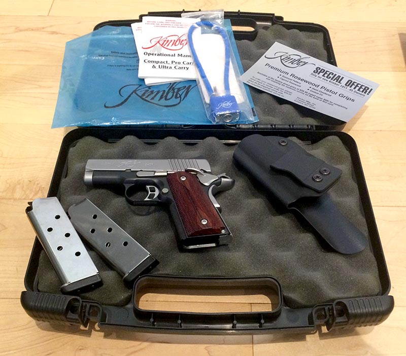 FS - Kimber Ultra CDP II rosewood grips, 2 mags, holster - $1,250